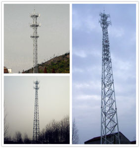 Galvanized Steel Tower Self Supporting Communication Tower pictures & photos