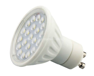 Ceramic 120degree 4W 21 2835 SMD GU10 LED Bulb Spotlight pictures & photos