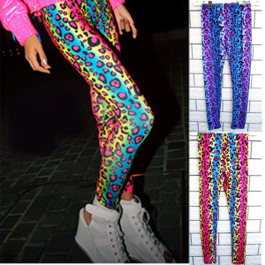 The Newest Leopard Print Women′s Leggings (leggings-110)