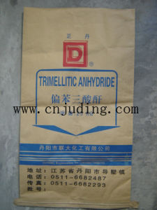 25kg Kraft Paper Cement Bag in Wenzhou Factory