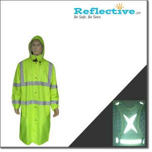 Reflective Long Rain Coat pictures & photos