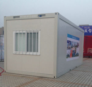 Modern Modular Prefab Container House for Guarding and Mobile Washroom pictures & photos