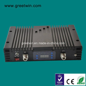 20dBm GSM 900MHz & WCDMA 2100MHz Mini Line Amplifier Signal Repeater Booster (GW-20LAGW) pictures & photos