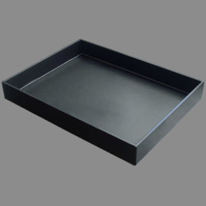 A4 Leather Document File Tray Fruit / Dinner Tray pictures & photos