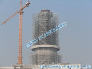 Construction Project Scaffolding of Tower pictures & photos