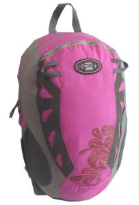 Fashion Pink Sports Outdoor Bag School Student Backpack pictures & photos