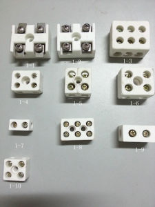 Wire 5A Porcelain Terminal Blocks Sensor Temperture Controller pictures & photos