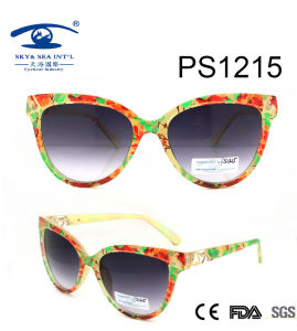 2016 New Design Plastic Sunglasses (PS1215) pictures & photos