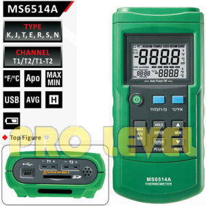 Professional Digital Thermometer (MS6514A) pictures & photos