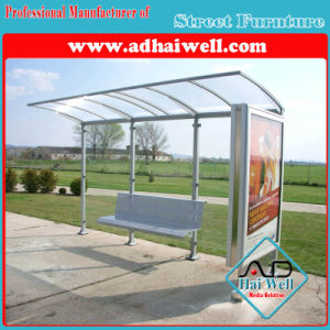 Simple Bus Shelter with City Light Box pictures & photos