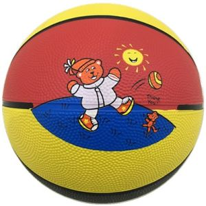 Rubber Colorful Sporting Mini Basketball