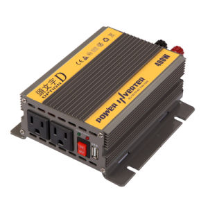 400W DC12V/24V AC220V/110 Modified Sine Wave Power Inverter (TUV) pictures & photos