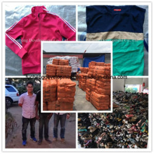 First Class Wholesale Used Clothing, Used Clothes in Bales From China, Hot Sell Second Hand Clothes for African Market (FCD-002) pictures & photos