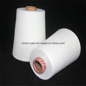 Ne 40/1 Virgin 100% Polyester Spun Knitting Yarn pictures & photos