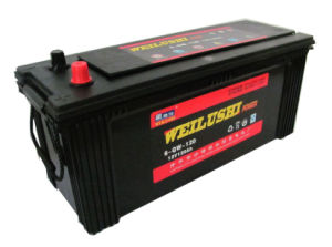 Dry Battery/ JIS N120 12V120ah Mf Car Battery/Starting Car Battery pictures & photos