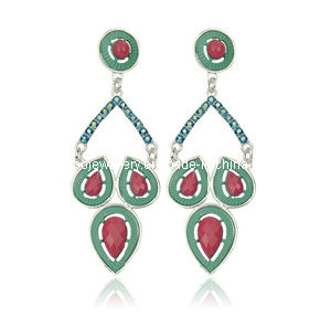 Trendy Bohemia Style Resin Stone Earring (XER13093) pictures & photos