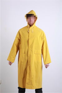 Polyester/PVC Longcoat for Safety Work pictures & photos