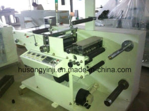Rotary Die Cutting with Slitter Machine for Plain Label pictures & photos