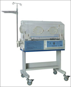Infant Incubator Atom Baby Incubator for Neonatal Ventilator Equipment Air Mode Control pictures & photos