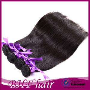 Hot Sell Russian Virgin Straight Hair Grade 7A Unprocessed Virgin Hair 4 Bundles Cheap Silky European Hair 100% Raw Human Hair pictures & photos
