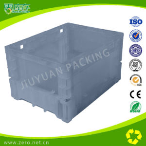 White Color Plastic Crate Bin Box for Auto Workshop Useage pictures & photos