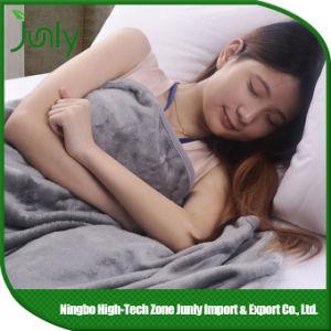 Popular Lightweight Warm Outdoor Microfiber Blanket Grey Blanket pictures & photos