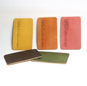 Garments Accessories Leather Label Patch Cloth Label pictures & photos