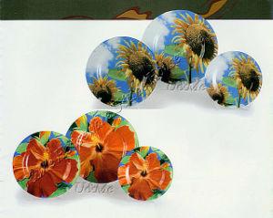 Glassware / Glass Plate (#2306, #2307)