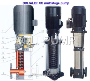 Qdl/Aldf Vertical Stainless Steel Multistage Pump pictures & photos