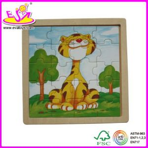 2015 Hot Promotional Wooden Jigsaw Puzzle for Kid, Lovely Children Wooden Toy Magic Puzzle, Educational Wooden Puzzle Toy Wj278208 pictures & photos
