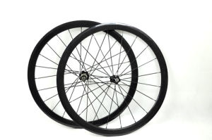 700c 3k 38mm Tubular Carbon Bicycle Wheels (BX-W38T)