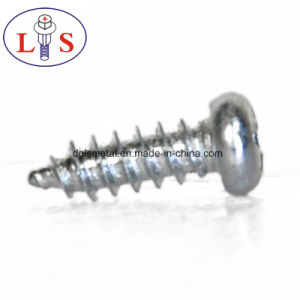 Carbon Steel Pan Head Screws with Zinc Plated pictures & photos