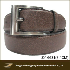 Men′s Casual Leather Belt (ZY-6631)