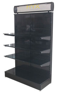 LED Lighting Box Wine Glass Display Rack/Double-Sided Display Rack