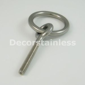 Stainless Steel 316 Eye Bolt with Ring pictures & photos