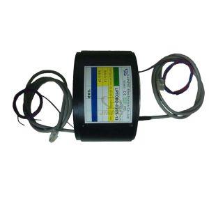 Big Bore Slip Ring Analog and Digital Signals for Heavy Mechinery Equipment