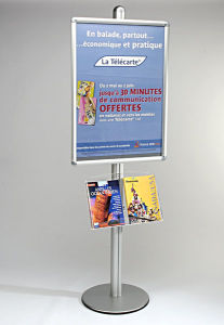 Aluminum Poster Display Stand pictures & photos