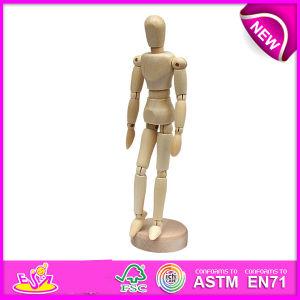 Wooden Drawing Manikin-Flexible Human Manikin, Rotatable Artist Drawing Wooden Human Body Manikin Wooden Art Manikin W06D041 pictures & photos