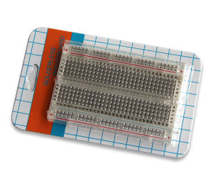 400 Points Transparent Solderless Breadboard (OZYJ-60)