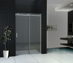 Good Quality Bathroom 8mm 10mm Toughened Glass Obscure Shower Screen pictures & photos