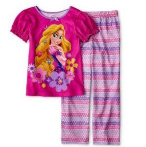 Rapunzel 2-PC. 2-10 Girls Pajamas
