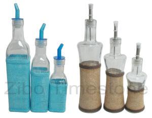 Glass Weaving Oil Bottles (TM1201) pictures & photos