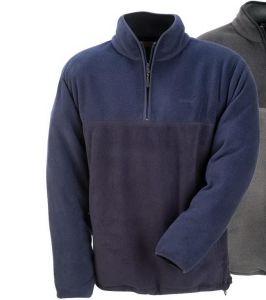 Men Half Zipper Polar Fleece Microfleece Casual Jacket pictures & photos