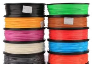 Torwell ABS/PLA Rapid Fdm Prototyping Filament Plastic Filament Makerbot up 3D Printer Filament, 1kg/Spool (2.2lb)