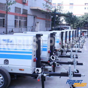 Soundproof Diesel Generator Mobile Portable Light Tower pictures & photos