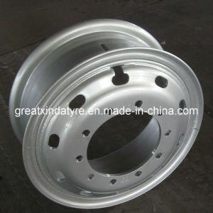 Tube Steel Wheel for Truck, Truck Wheel, Steel Wheel (8.5-24) pictures & photos