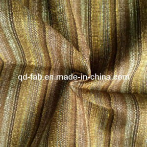 85%Cotton 15%Linen Yarn Dyed Fabric for Garment (QF13-0743) pictures & photos