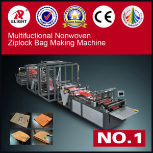 Wenzhou T-Shirt Bag Non Woven Bag Making Machine pictures & photos