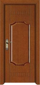 Solid Composite Wood Door (YFM-8001) pictures & photos