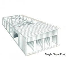 Single Slope Steel Structure Warehouse pictures & photos